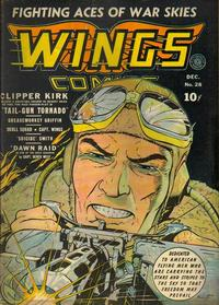 Cover Thumbnail for Wings Comics (Fiction House, 1940 series) #28