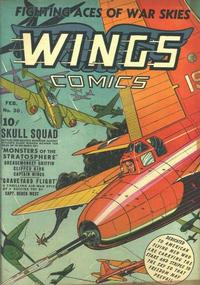 Cover Thumbnail for Wings Comics (Fiction House, 1940 series) #30