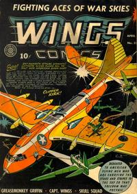 Cover Thumbnail for Wings Comics (Fiction House, 1940 series) #32