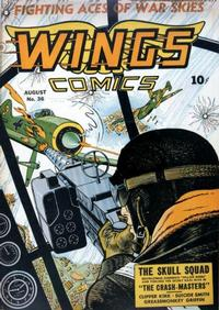 Cover Thumbnail for Wings Comics (Fiction House, 1940 series) #36