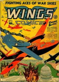 Cover Thumbnail for Wings Comics (Fiction House, 1940 series) #37