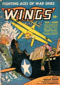Cover Thumbnail for Wings Comics (Fiction House, 1940 series) #39