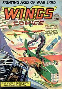 Cover Thumbnail for Wings Comics (Fiction House, 1940 series) #40