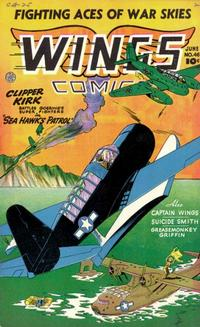 Cover Thumbnail for Wings Comics (Fiction House, 1940 series) #46