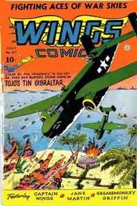 Cover Thumbnail for Wings Comics (Fiction House, 1940 series) #47