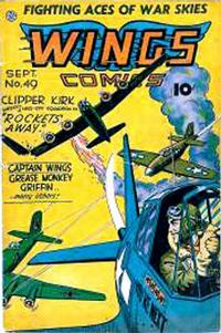 Cover Thumbnail for Wings Comics (Fiction House, 1940 series) #49