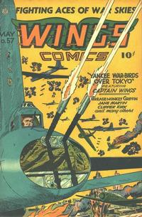 Cover Thumbnail for Wings Comics (Fiction House, 1940 series) #57