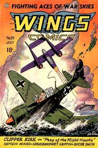Cover Thumbnail for Wings Comics (Fiction House, 1940 series) #59