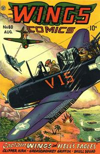 Cover Thumbnail for Wings Comics (Fiction House, 1940 series) #60