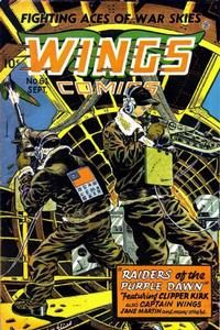 Cover Thumbnail for Wings Comics (Fiction House, 1940 series) #61