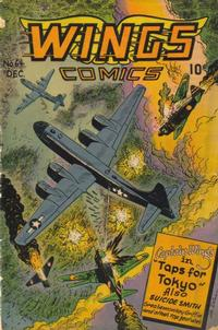Cover Thumbnail for Wings Comics (Fiction House, 1940 series) #64