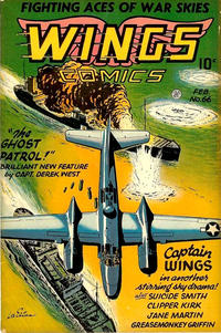 Cover Thumbnail for Wings Comics (Fiction House, 1940 series) #66
