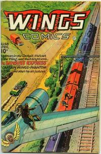 Cover Thumbnail for Wings Comics (Fiction House, 1940 series) #68