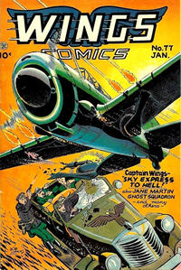Cover Thumbnail for Wings Comics (Fiction House, 1940 series) #77