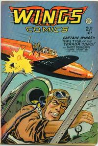 Cover Thumbnail for Wings Comics (Fiction House, 1940 series) #81