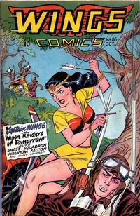 Cover Thumbnail for Wings Comics (Fiction House, 1940 series) #86