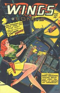 Cover Thumbnail for Wings Comics (Fiction House, 1940 series) #87