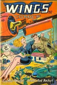 Cover Thumbnail for Wings Comics (Fiction House, 1940 series) #92