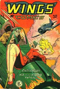Cover Thumbnail for Wings Comics (Fiction House, 1940 series) #94