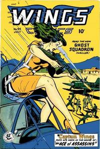 Cover Thumbnail for Wings Comics (Fiction House, 1940 series) #95