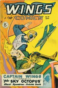 Cover Thumbnail for Wings Comics (Fiction House, 1940 series) #97