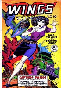 Cover Thumbnail for Wings Comics (Fiction House, 1940 series) #101