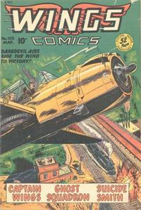 Cover Thumbnail for Wings Comics (Fiction House, 1940 series) #103