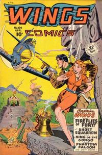 Cover Thumbnail for Wings Comics (Fiction House, 1940 series) #104