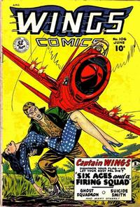 Cover Thumbnail for Wings Comics (Fiction House, 1940 series) #106