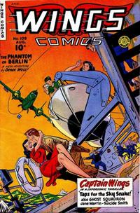 Cover Thumbnail for Wings Comics (Fiction House, 1940 series) #108