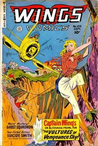 Cover Thumbnail for Wings Comics (Fiction House, 1940 series) #109