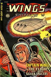 Cover Thumbnail for Wings Comics (Fiction House, 1940 series) #112