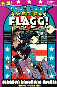 Cover Thumbnail for American Flagg! (First, 1983 series) #2