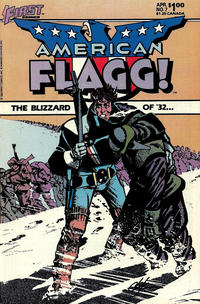 Cover Thumbnail for American Flagg! (First, 1983 series) #7