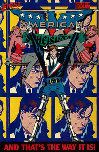Cover for American Flagg! (First, 1983 series) #10