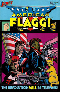 Cover Thumbnail for American Flagg! (First, 1983 series) #12
