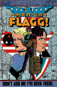 Cover Thumbnail for American Flagg! (First, 1983 series) #13