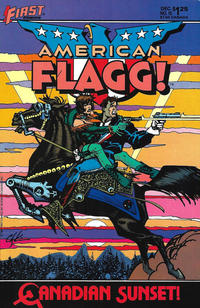 Cover Thumbnail for American Flagg! (First, 1983 series) #15