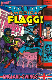 Cover Thumbnail for American Flagg! (First, 1983 series) #23
