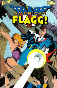 Cover for American Flagg! (First, 1983 series) #33