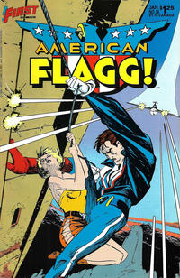Cover Thumbnail for American Flagg! (First, 1983 series) #36