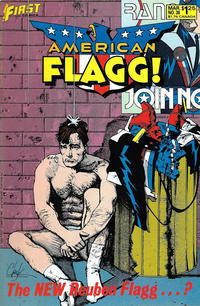 Cover Thumbnail for American Flagg! (First, 1983 series) #38