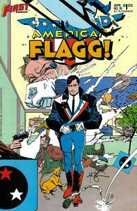 Cover for American Flagg! (First, 1983 series) #39