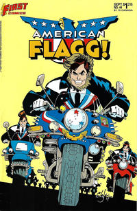 Cover Thumbnail for American Flagg! (First, 1983 series) #44