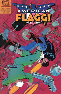 Cover Thumbnail for American Flagg! (First, 1983 series) #49