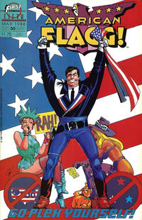 Cover Thumbnail for American Flagg! (First, 1983 series) #50