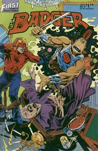 Cover for The Badger (First, 1985 series) #13