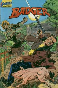 Cover Thumbnail for The Badger (First, 1985 series) #19