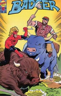 Cover Thumbnail for The Badger (First, 1985 series) #42