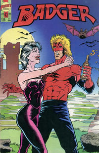Cover Thumbnail for The Badger (First, 1985 series) #43